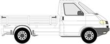 TRANSPORTER T4 Pritsche/Fahrgestell (70E, 70L, 70M, 7DE, 7DL
