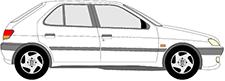 306 Schrägheck (7A, 7C, N3, N5)
