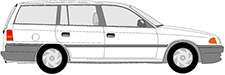 ASTRA F Caravan (T92)