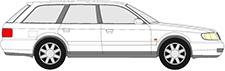 A6 Avant (4A5, C4)