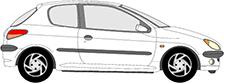 206 Schrägheck (2A/C)