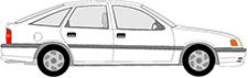 VECTRA A CC (J89)