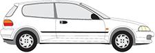 CIVIC V Hatchback (EG)