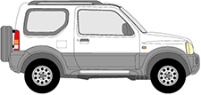 JIMNY Geländewagen geschlossen (SN)