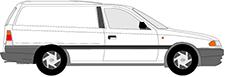 ASTRA F Van (T92)