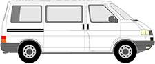 TRANSPORTER T4 Bus (70B, 70C, 7DB, 7DK, 70J, 70K, 7DC, 7DJ)