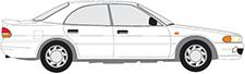 GALANT V Stufenheck (E5_A, E7_A, E8_A)