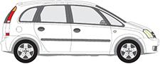 MERIVA A Großraumlimousine (X03)