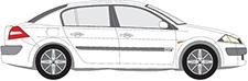 MEGANE II Stufenheck (LM0/1_)