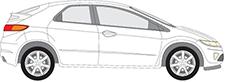 CIVIC VIII Hatchback (FN, FK)