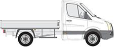CRAFTER 30-50 Pritsche/Fahrgestell (2F_)