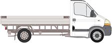 INTERSTAR Pritsche/Fahrgestell