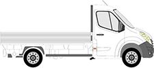 NV400 Pritsche/Fahrgestell (X62, X62B)