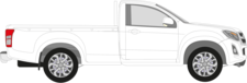 D-MAX II Pritsche/Fahrgestell (TFR, TFS)